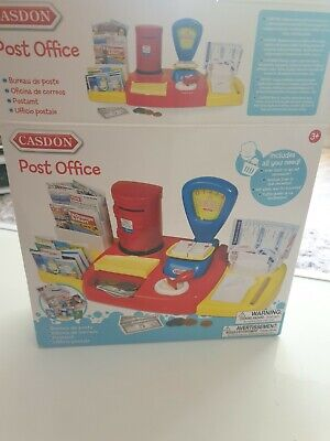 £2.99 • Buy Casdon Post Office Playset With Weighing Scales, Post Box,  Boxed Instructions