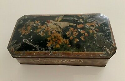 £4.99 • Buy W & R Jacobs & Co Ltd The Song Of The Birds For Mirth Biscuit Tin