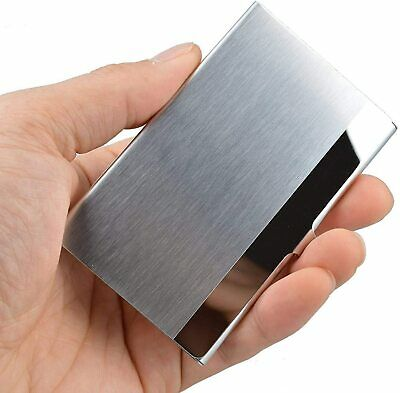 £7.98 • Buy Business Card Holder Professional Stainless Steel, Business Card Case