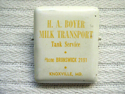 $8.95 • Buy H. A. Boyer Milk Transport Tank Service Knoxville Md Metal Clip/Clamp - Ph 2191