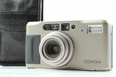 $ CDN723.83 • Buy 【 MINT W/ Leather Case 】 Contax TVS II Point & Shoot 35mm Film Camera From JAPAN
