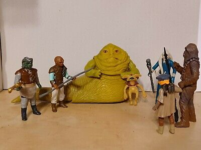 $ CDN62.93 • Buy Vintage Kenner Star Wars Action Figure Lot! 1980's! Jabba The Hutt! Classic!