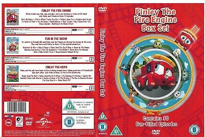 £4 • Buy FINLEY THE FIRE ENGINE - Box Set 3xDVD 2012 - Children's