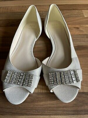 £9.99 • Buy No 1 Jenny Packham Laurie Shoes / Flats - Diamante - Size 6 /39 - NEW Cruise