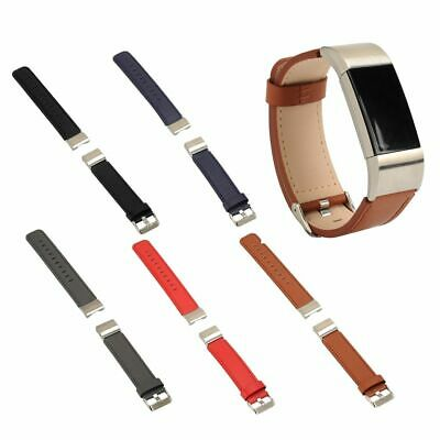 $ CDN10.06 • Buy Genuine Leather Watch Band Strap Replacement Wristband For Fitbit Charge 2 Hi-Q