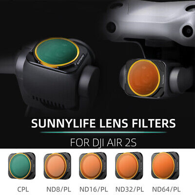 AU19.49 • Buy Drone Lens Filters Professional Camera Filter CPL ND/PL Kit For DJI Mavic Air 2S