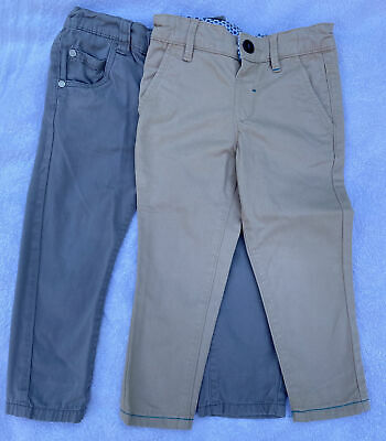 £4 • Buy Boys Bundle Of Trousers Age 18m 2-3 Yrs Designer Ted Baker And Blue Zoo