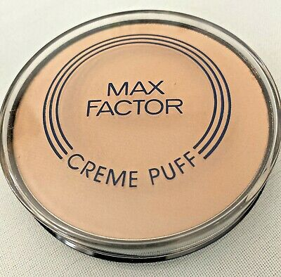 £2.99 • Buy New Max Factor Creme Puff Refill Pressed Face Powder 21g - Translucent 5 Make Up