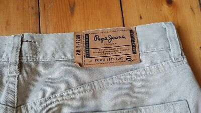 £14.95 • Buy Pepe Jeans Ollie Pants Trousers Cream Colour Good Condition Size 34 30