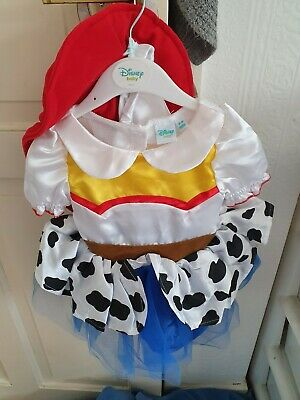 £15 • Buy Baby Girls 3-6 Months Disney Toy Story Jessie Outfit Cow Girl Fancy Dress Costum
