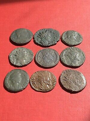 £16 • Buy 9 Late Roman Coins