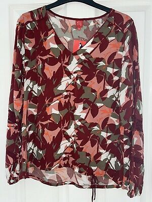 £14.99 • Buy Miss Captain Tortue Printed Blouse Size 10-12 BNWT