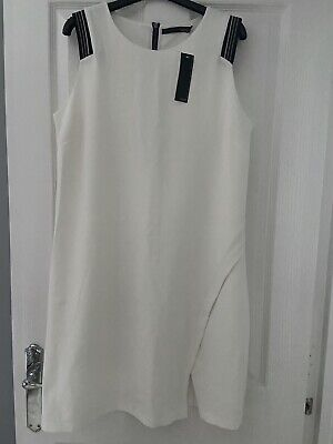 £19.99 • Buy Captain Tortue Trend White Dress Size 14 BNWT