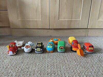 £12.99 • Buy Vtech Toot Toot 7 Cars & Track Bundle Plane, Digger, Bus & More! See All Pics!