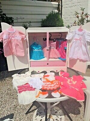£39.99 • Buy Dolls Wardrobe With Clothes Suit Baby Annabell Dolls
