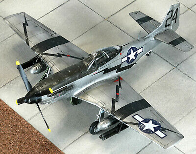£35 • Buy 1/48 P-51D Mustang - Built And Painted