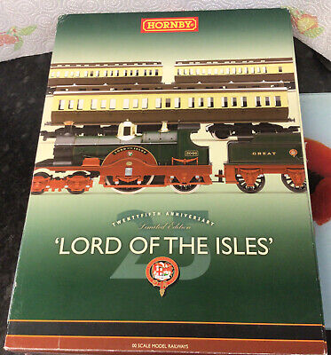 £79.99 • Buy Hornby 00 Scale Railways R2560/Train Pack 'Lord Of The Isles' Ltd Edition Lot 66