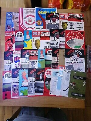 £9.99 • Buy 30+ Different Manchester United  Programmes 1960s-80s All Listed - Bulk 41