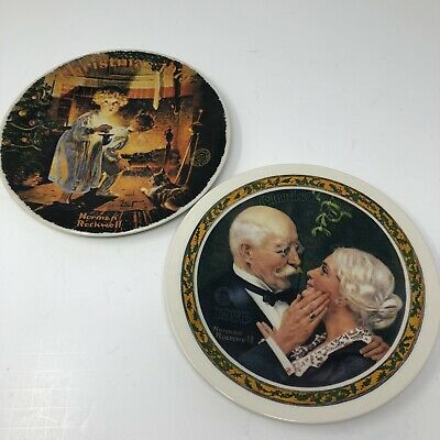 $ CDN21.15 • Buy *Norman Rockwell Christmas Plates - 1976 1979 Knowles Limited Ed Vintage