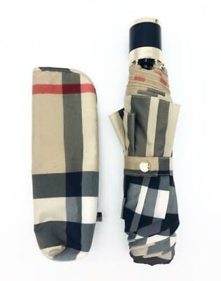 £271.24 • Buy Purchase Of Directly Managed Stores Burberry Folding Umbrella Unisy Check _55248