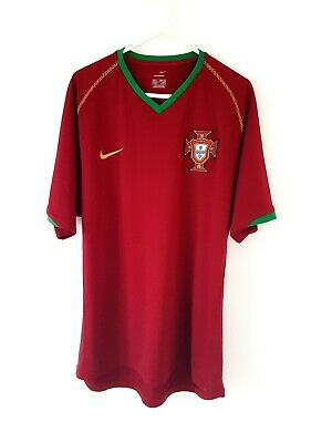 £49.99 • Buy Portugal Home Shirt 2006. Medium. Original Nike. Red Adults Football Top Only M