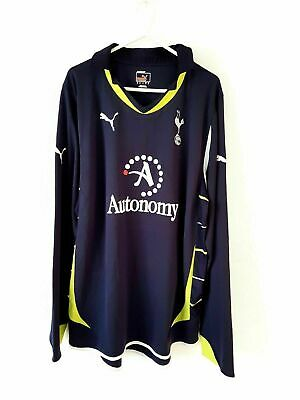 £54.99 • Buy Tottenham Hotspur 3rd Shirt 2010. Large. Puma. Blue Adults Long Sleeves Top Only