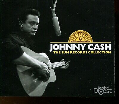 £8 • Buy Readers Digest - Johnny Cash / The Sun Records Collection - 3xCD Fatbox