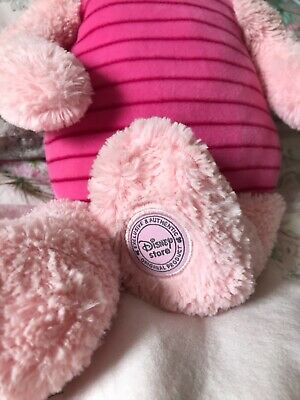 """£7 • Buy Piglet In Need Of A Loving Home! (Winnie The Pooh) Soft Toy 22"""" Disney Store"""