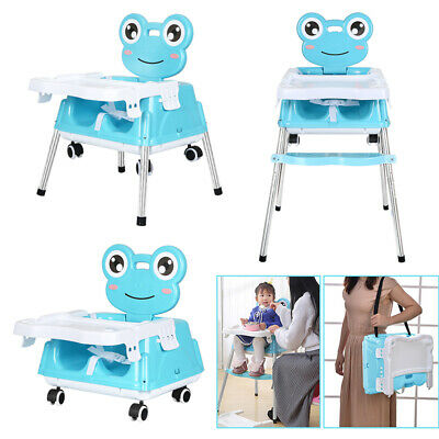 £6.50 • Buy 5 In 1 Portable Baby Toddler High Chair Infant Child Folding Feeding Seat New
