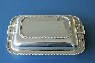 £19.99 • Buy Vintage Silver Plated Serving Entree Dish