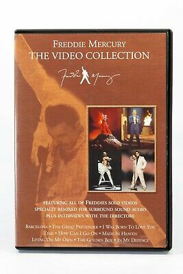 £15.01 • Buy Freddie Mercury The Video Collection DVD All Solo Videos Plus Interviews
