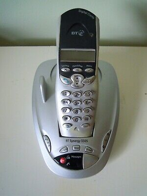 £10 • Buy BT Synergy 3505 Cordless Phone & Base Unit + Answer Machine.Cables + User Guide