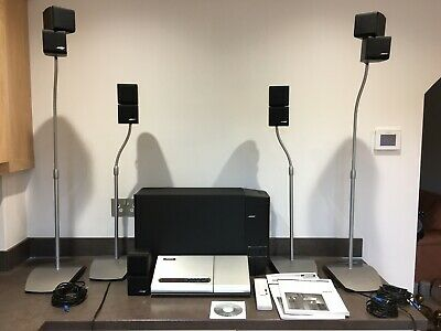£450 • Buy Bose Lifestyle Model 5 Music Centre Powered Acoustimass System Double Duel Cube