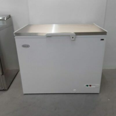 £450 • Buy Commercial Chest Freezer Deep Freeze Stainless Foster FCF305