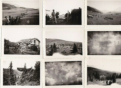 £20 • Buy Original WW2 Snapshot Photos Of B-17 Flying Fortresses On A Supply Mission