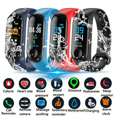 AU12.59 • Buy Kids Activity Tracker Smart Watches Teens Pedometer For Fit Bit Style Sports