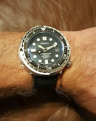 $ CDN302.73 • Buy Steeldive Tuna 300m Diver Watch Automatic NH35 Modified With Seiko Dial Watch