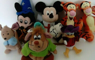 £13.99 • Buy Official Disney Plush Soft Toy Bundle Mickey Mouse Tigger Gus Donald Duck Roo