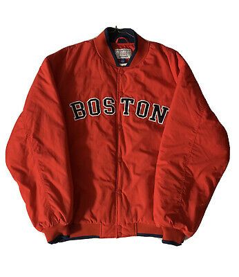 $28 • Buy VTG Boston Red Sox Majestic Authentic Collection Dugout Jacket Men's Size Large