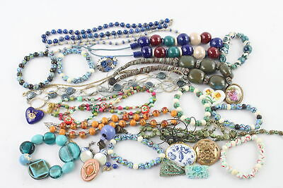 £2.20 • Buy 30 X PORCELAIN JEWELLERY Inc. Necklace, Statement, Brooches, Earrings