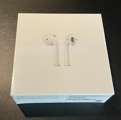 AU85.60 • Buy Apple AirPods 2nd Generation With Charging Case - White