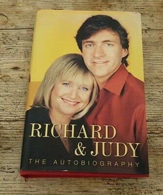 £0.99 • Buy Hand Signed 2002 Richard & Judy Autographs In The Autobiography H/B Book