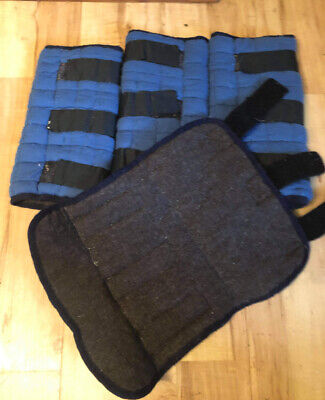 £50 • Buy Thermatex Leg Wraps Size L In Blue (wicking / Drying / Travelling)