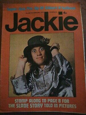 £4.99 • Buy Jackie Oct 28 1972 Noddy Holder Cover Marc Bolan Feature