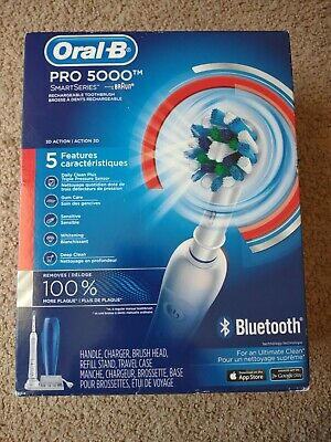 AU133.06 • Buy Oral-B Smart 5000 Rechargeable Toothbrush NEW Factory Sealed Bluetooth 3757