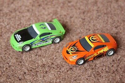 £14.99 • Buy 2 Micro Scalextric Nissan 350z Cars Tested Working