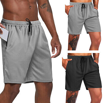 $7.99 • Buy Men Casual Mesh Shorts Basketball Sports Active Gym Fitness Pants Workout Summer