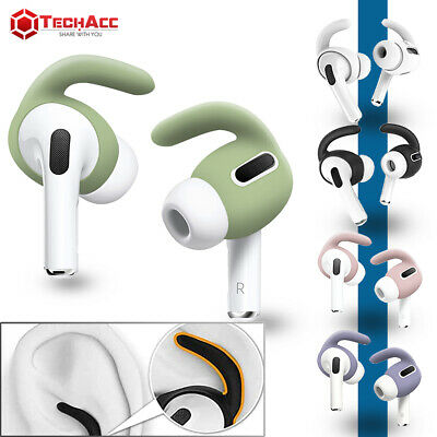 AU6.88 • Buy For AirPods Pro Ear Hooks Case Cover Secure Holder Earbuds Ear Tips Strap