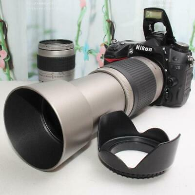£406 • Buy Spare Battery With Camera Bag Nikon D7000 Super Telephoto Double Lens