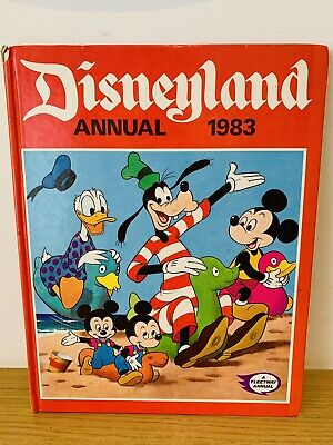 £8.99 • Buy Disneyland Annual 1983 Fleetway Annual Unclipped Collectables